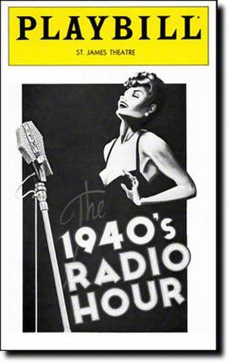 The 1940's Radio Hour - 1979 Broadway Playbill