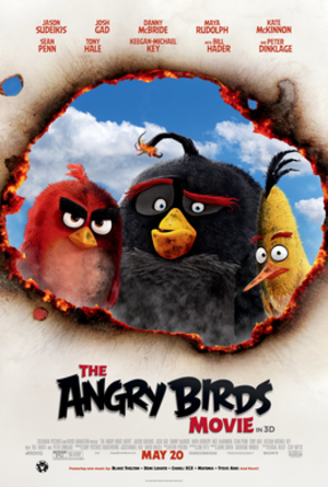 The Angry Birds Movie - Theatrical release poster