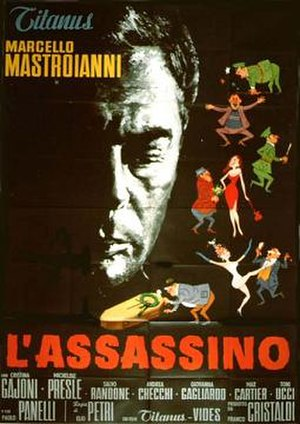 The Assassin (1961 film) - Film poster