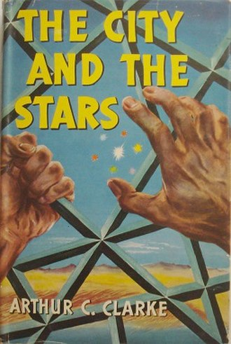 The City and the Stars - Cover of the first edition