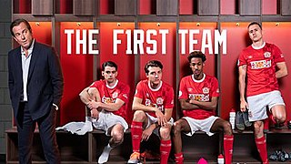 <i>The First Team</i> (TV series) UK television comedy series
