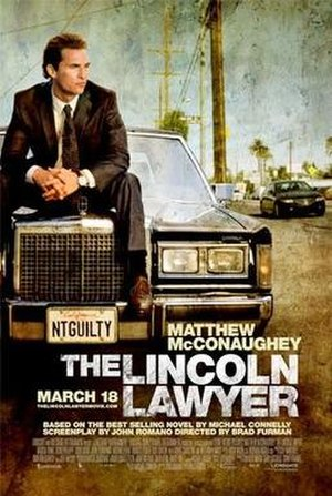 The Lincoln Lawyer (film) - Theatrical release poster