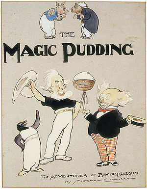 The Magic Pudding - Frontispiece for first edition