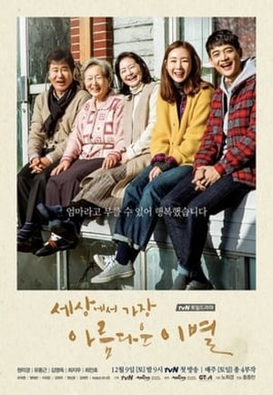 The Most Beautiful Goodbye - Promotional poster