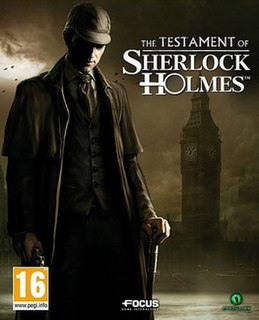 <i>The Testament of Sherlock Holmes</i> video game