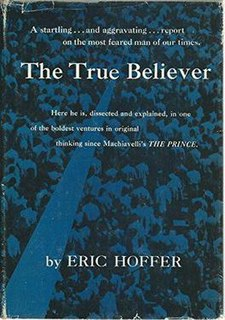 book by Eric Hoffer