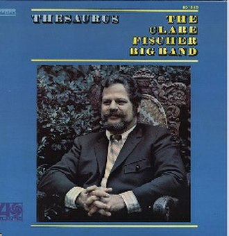 Thesaurus (album) - Image: Thesaurus (Clare Fischer album)