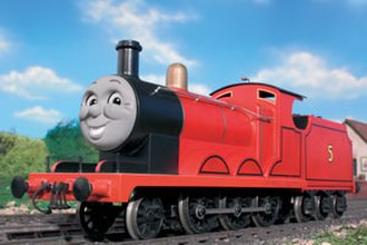 James the Red Engine - James' Model