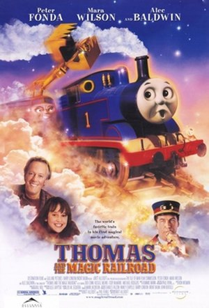 Thomas and the Magic Railroad - Theatrical release poster