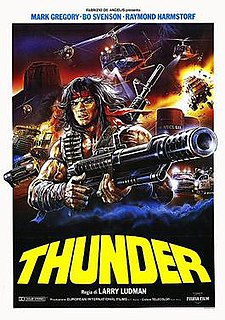 <i>Thunder Warrior</i> 1983 film by Fabrizio De Angelis