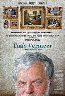 <i>Tims Vermeer</i> 2013 documentary film by Teller