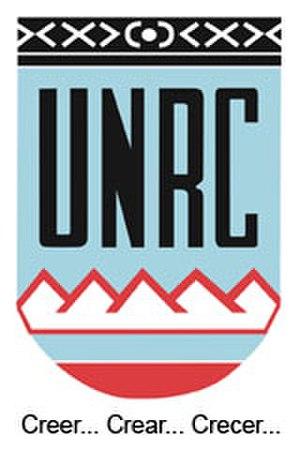 National University of Río Cuarto - Coat of arms of the National University of Río Cuarto