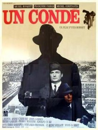 The Cop (1970 film) - French film poster for The Cop