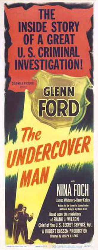 The Undercover Man - Theatrical release poster