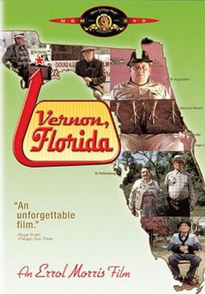 Vernon, Florida (film) - DVD release cover