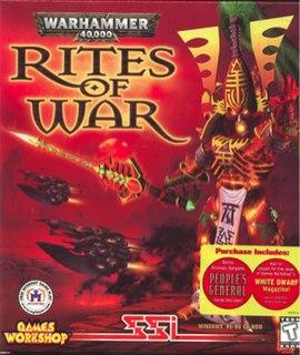 <i>Warhammer 40,000: Rites of War</i> 1999 video game