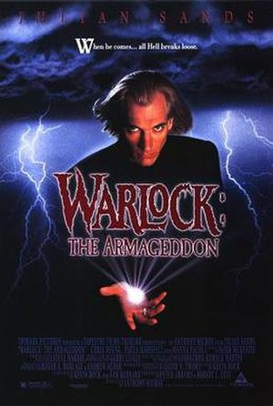 Warlock: The Armageddon - Theatrical release poster