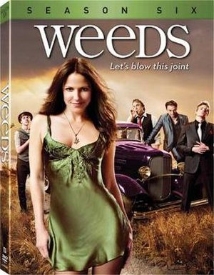 Weeds (season 6) - Image: Weeds S6 DVD