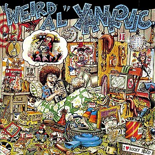 "<i>""Weird Al"" Yankovic</i> (album) 1983 studio album by ""Weird Al"" Yankovic"