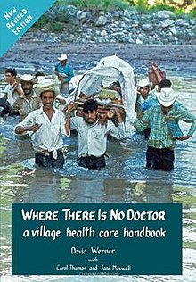 Where There Is No Doctor book cover, 13th revised printing.jpg