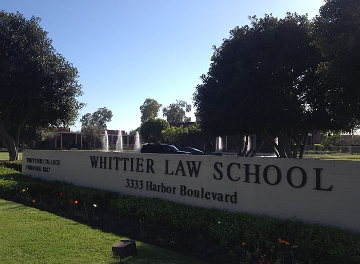 Whittier Law School's campus in Costa Mesa, California