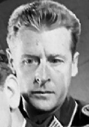 Wilson Wood (actor) - Wood in the 1951 film, The Desert Fox
