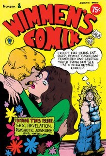 <i>Wimmens Comix</i> US-American underground comics anthology series with all-female contributors