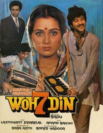 Woh Saat Din - Poster