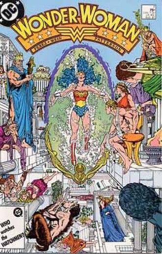 Olympian Gods (DC Comics) - Image: Wonder Woman v 2 7