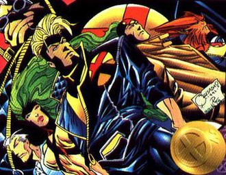 X-Factor (comics) - The 1990s X-Factor team, art by Joe Quesada
