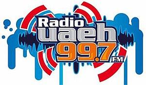 XHUAH-FM - Image: XHUAH Radio UAEH logo