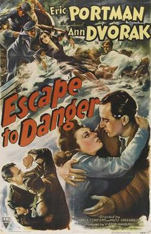 "Escape to Danger - Image: ""Escape to Danger"" (1943)"
