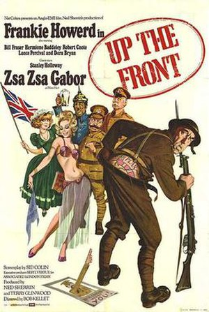 Up the Front - Theatrical poster