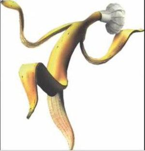 Bananskiva - Image: 1976 bananskiva
