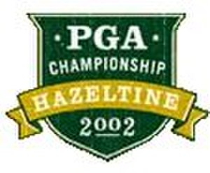 2002 PGA Championship - Image: 2002PGALogo