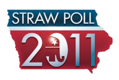 2011 Ames Straw Poll logo.png
