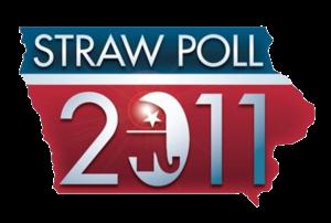 Iowa Straw Poll - 2011 logo
