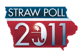 Iowa Straw Poll (1979–2011) American political event