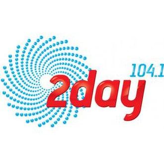 2Day FM - 2day FM Logo 2005–2014