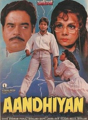 Aandhiyan - Theatrical release poster