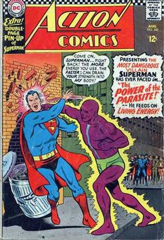 Parasite (comics) - Image: Act 340