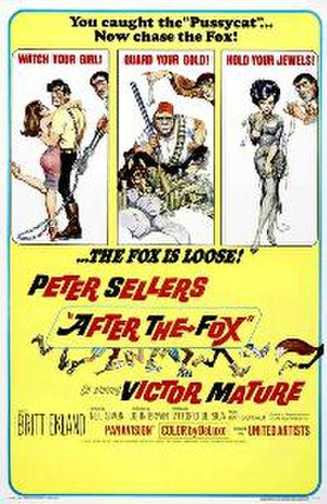 After the Fox - Theatrical release poster by Frank Frazetta