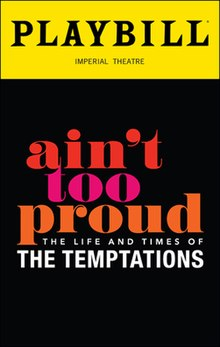 Ain't Too Proud (musical) - Wikipedia