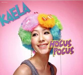 Hocus Pocus (Kaela Kimura album) - Image: Album Hocus Pocus cover