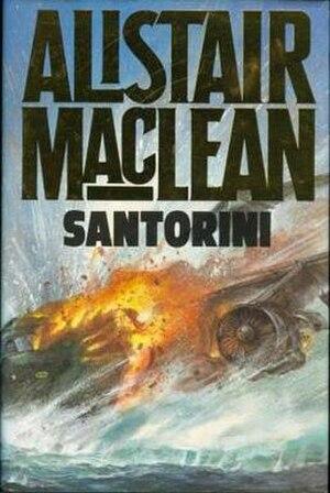 Santorini (novel) - First edition (UK)
