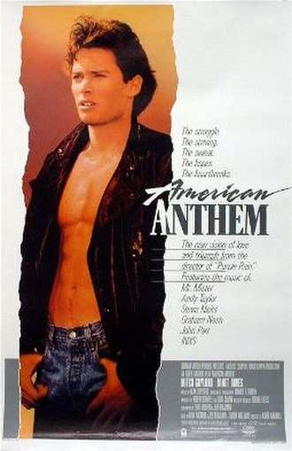 American Anthem - Theatrical release poster