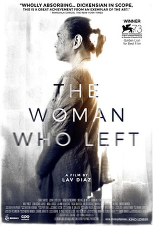 The Woman Who Left - Film poster