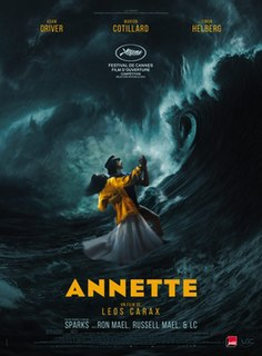 <i>Annette</i> (film) 2021 musical film by Leos Carax