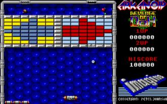 Arkanoid: Revenge of Doh - Screenshot from the Amiga version.