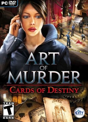 Art of Murder: Cards of Destiny - Image: Art of Murder Cards of Destiny cover